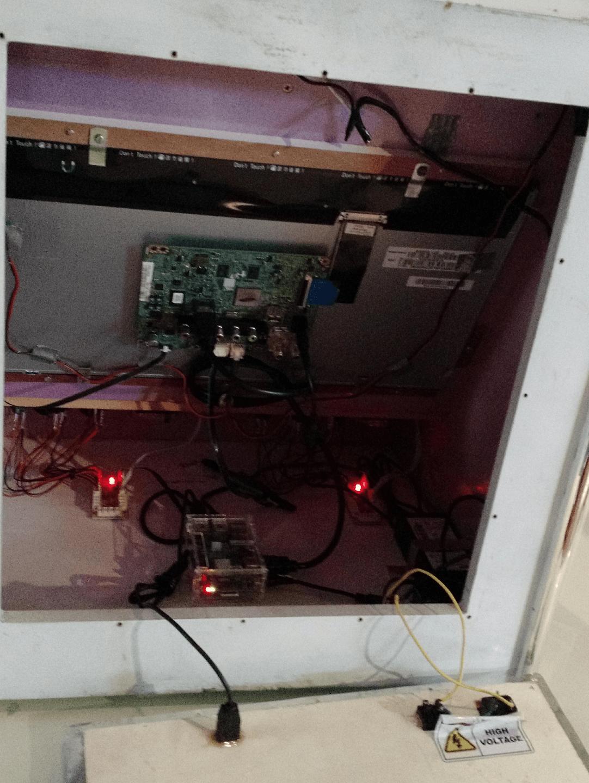 Bartop Arcade baseado no Raspberry Pi.