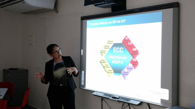 A Iris apresentou os principais módulos do ERP da SAP.