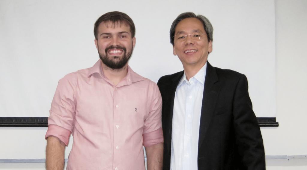 """O Prof. Dr. Eng. Fernando Hideo Fukuda, CEO na Fukuda Solutions, Coordenador do Curso de Engenharia da Computação e do Curso de Ciência da Computação e Professor no Campus Tijuca da UVA, organizou e realizou evento """"Impressão 3D na Íntegra"""" no Campus Tijuca da UVA."""