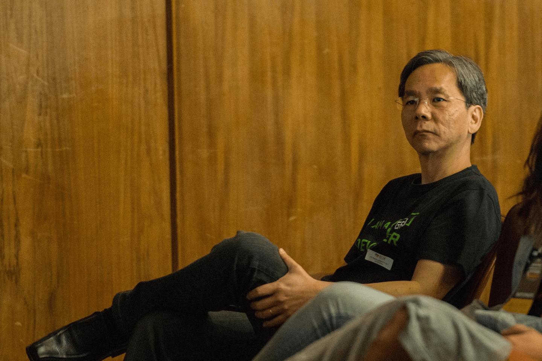 Dr. Fukuda participou nas palestras apresentadas no Clube de Engenharia.