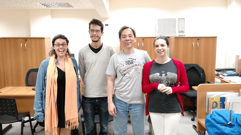 O Dr. Fukuda realizou a primeira reunião de organização do evento no dia 30 de setembro de 2016 com os representantes de comunidade Python do Rio de Janeiro na Coordenação de Cursos do Campus Tijuca da UVA .