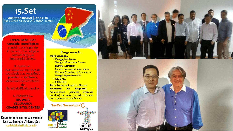 Dr. Fernando Hideo Fukuda, CEO na Fukuda Solutions, participou como Mestre de Cerimônia no Encontro de Negócios com a Delegação de Tecnologia do Governo Municipal de Shanghai e os Empresários de TI do Rio exclusivamente selecionados, realizado no auditório da Riosoft.