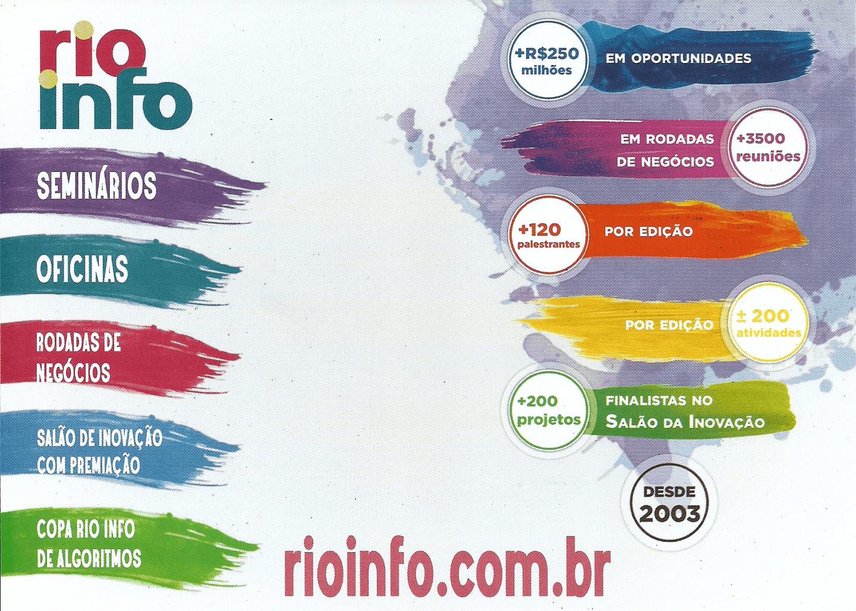 Dr. Eng. Fernando Hideo Fukuda, CEO na Fukuda Solutions, participou no Encontro de Negócios, realizado na TI Rio, Sindicato da Empresas de Informática do Rio de Janeiro, como convidado para apoiar o Rio Info 2017, XV edição do maior evento de TI do Rio de Janeiro e um dos principais eventos de TI do Brasil.