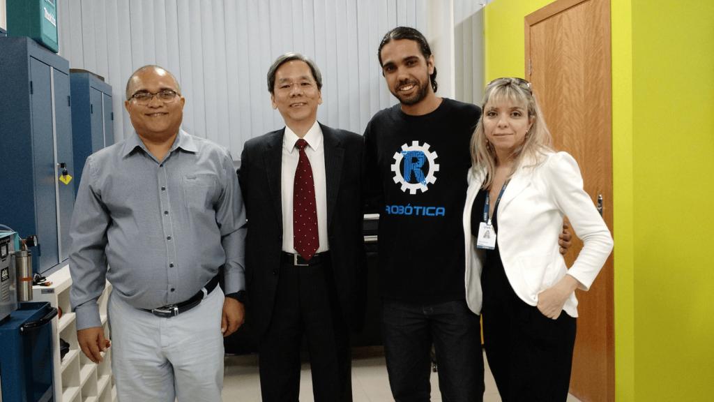 """Dr. Fukuda co-realizou a """"Semana da Computação 2017"""" com a Prof.a Camilla Lobo o Prof. Thiago Gabriel, os Estudantes, Docentes e Experts do Mercado."""