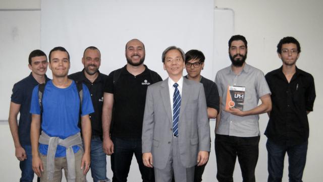 Fukuda co-realizou a VI Semana da Segurança da Informação