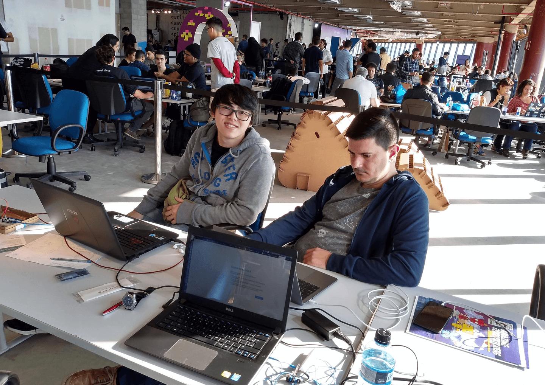 Dr. Fukuda é Mentor do Time BHAM, formado pelos Hackers: Alexandre Salles Cunha,Bruno C. Penha,Henrique Kronemberger e Mai Yufeng, Aluno do Curso de Ciência da Computação no Campus Tijuca da UVA.
