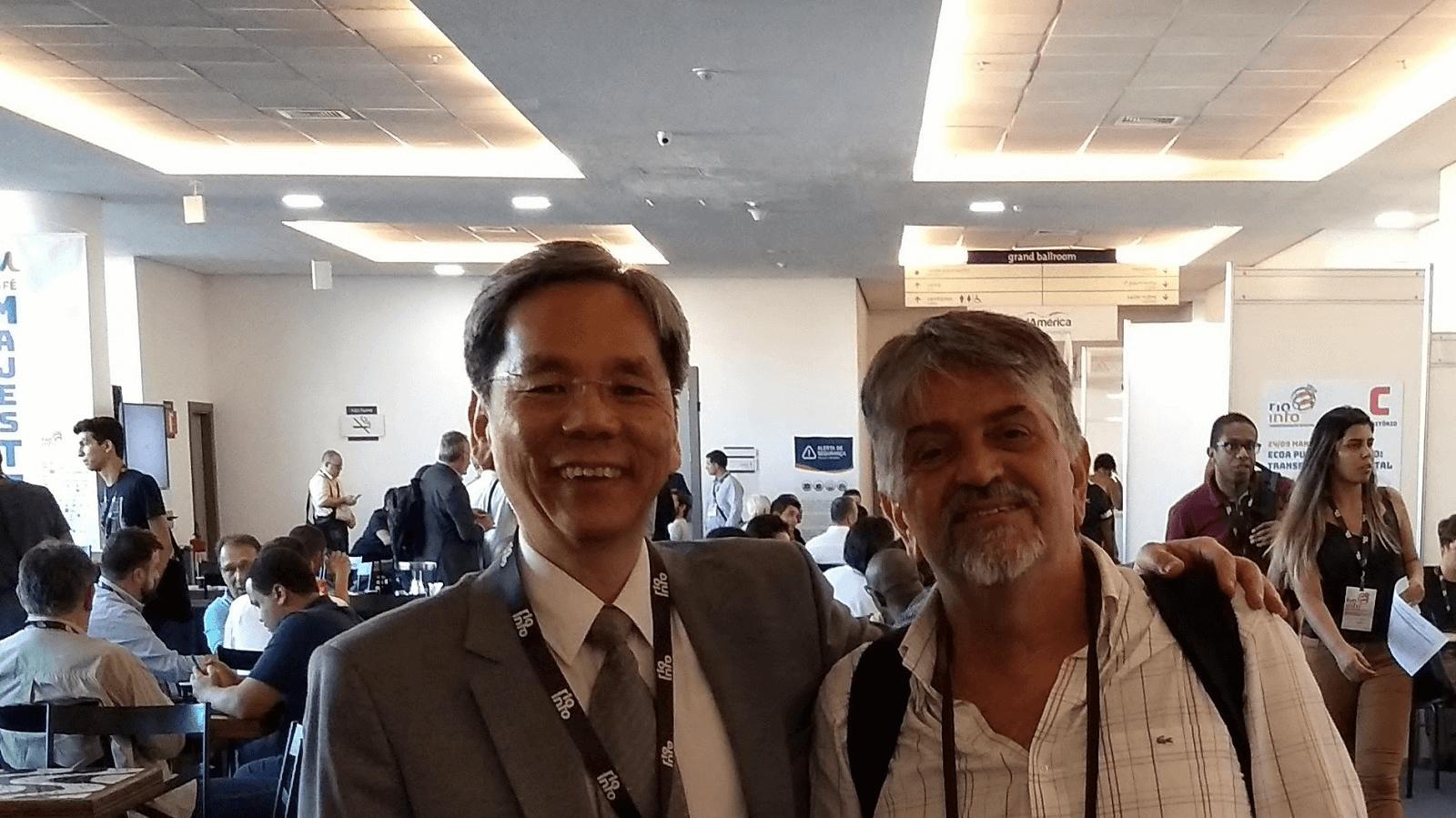 Dr. Fernando Hideo Fukuda participou no Rio Info 2018 e realizou meetings de negócios, parcerias, mentorias, compartilhamentos de conhecimentos e trocas de experiências.