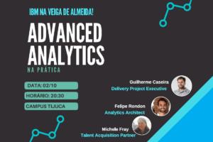 Fukuda organizou o Seminário Advanced Analytics na Prática com a Michele da IBM